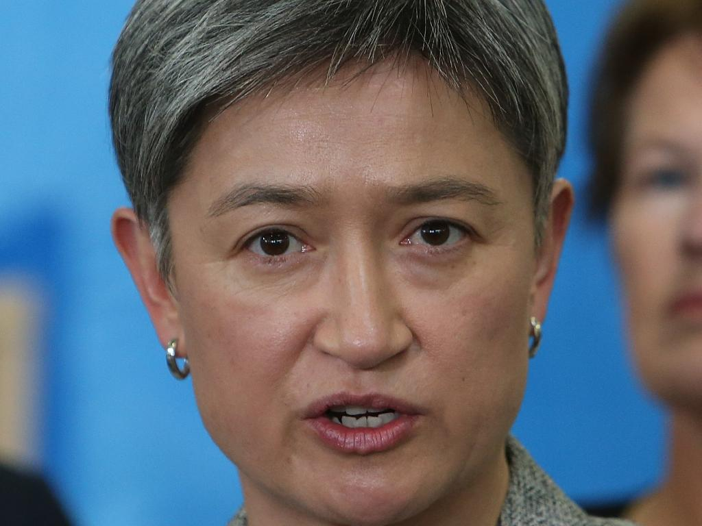 Penny Wong has said that leading Labor for her would not be an option. Picture: Kym Smith