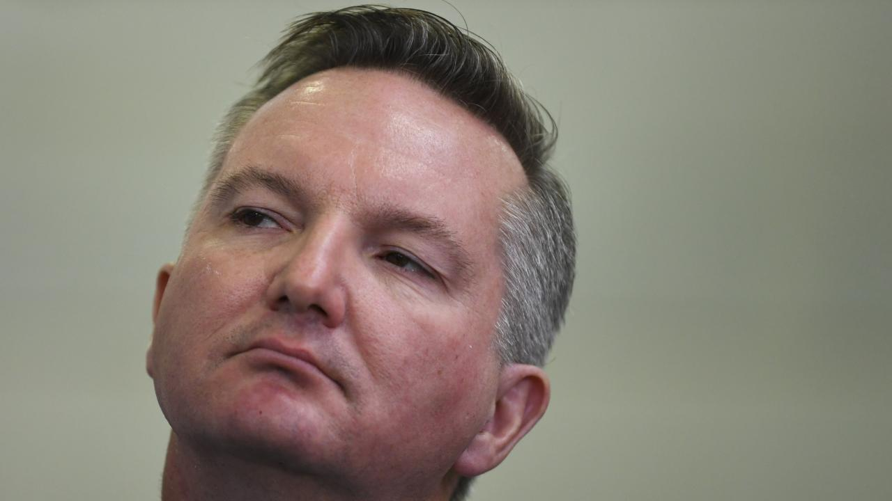 Chris Bowen is considering a run for the Labor leadership. Picture: AAP