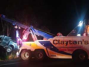 Driver killed in terrifying Bruce Highway crash