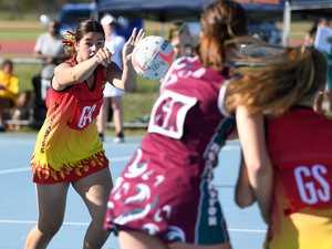 Bundaberg's Holly Crossley-Price passes the ball