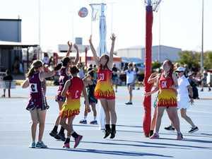 Bundaberg's Elyse Packwood stretches for the ball