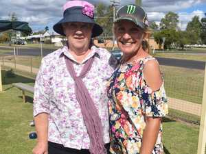 Val Bender and Sandra Worth at the Chinchilla