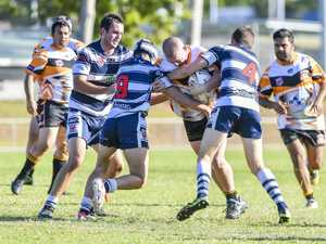 Wallaby's Lochlan Winston in their Division 1 match