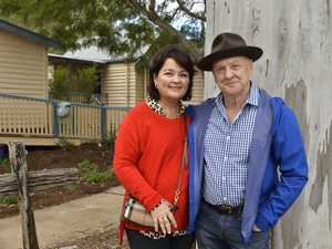 Lee and Peter Hanmer visited the Hampton Food