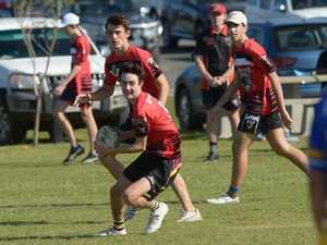 CQ BULLS JUNIOR TOUCH CHAMPIONSHIPS U16 boys: Rocky