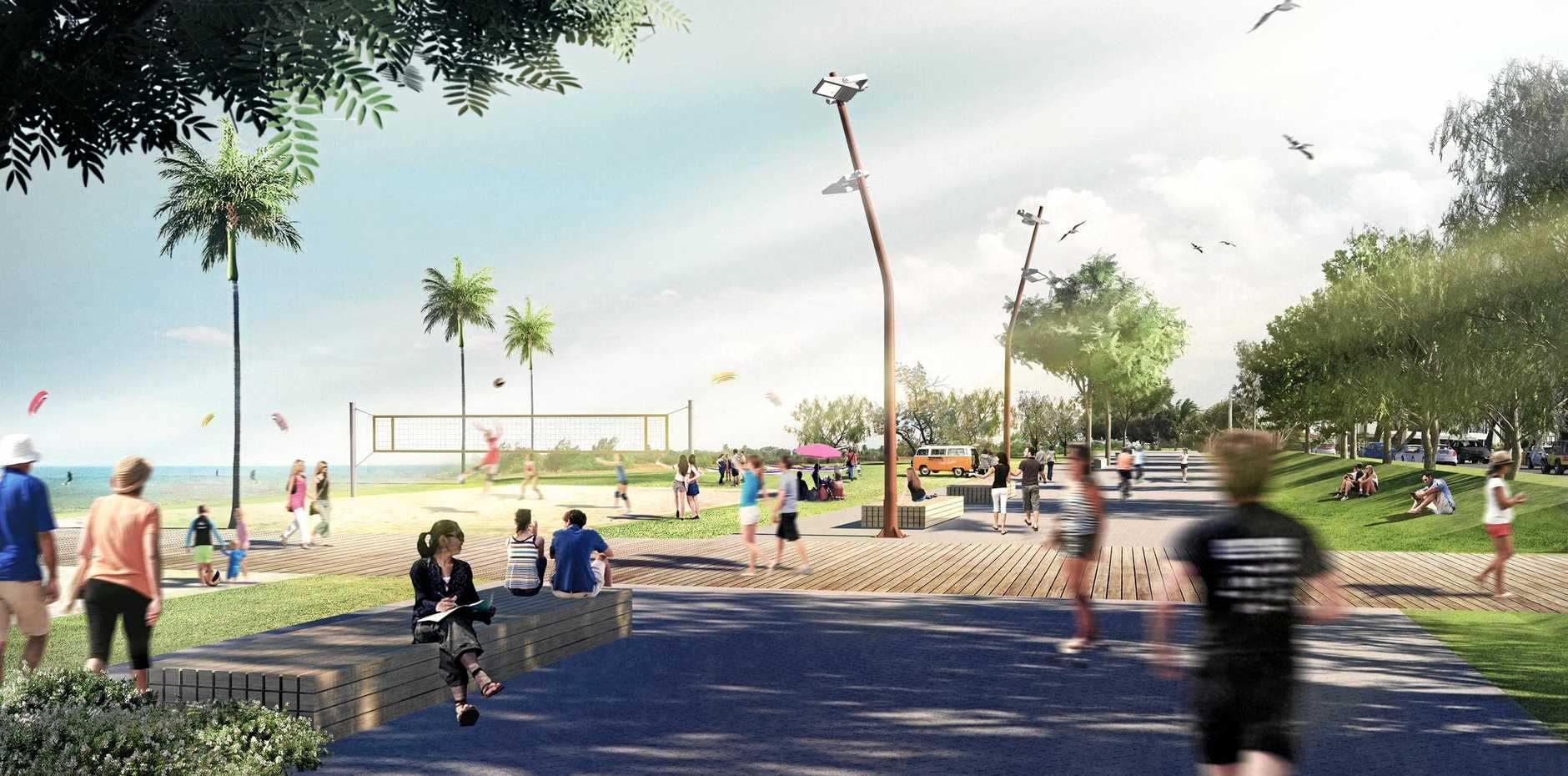 An artist's impression of Mackay's Waterfront PDA.