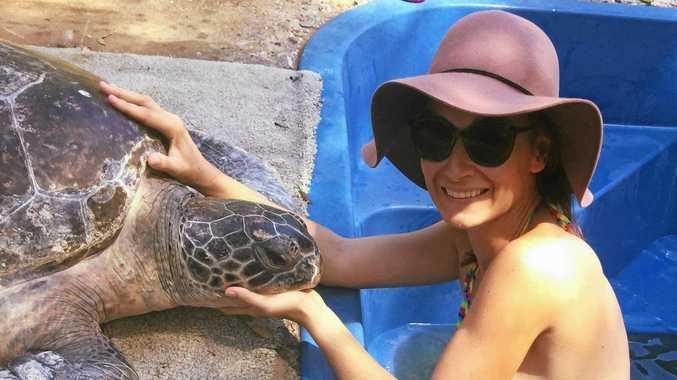 'It's rewarding': Volunteer talks about time on Quoin Island