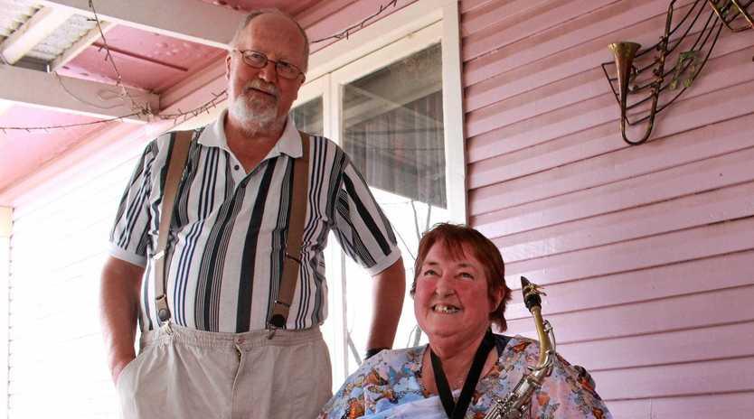 Lynette and her husband Chris Gordon-smith.