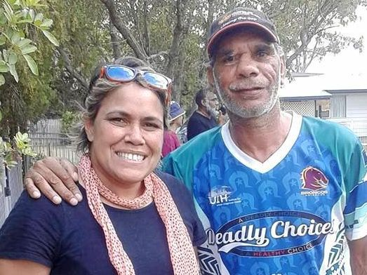 STAY AWAY: Montgomery Arthur Dynevor (pictured with Olympian  Cathy Freeman) pleaded guilty to assault occasioning bodily harm.