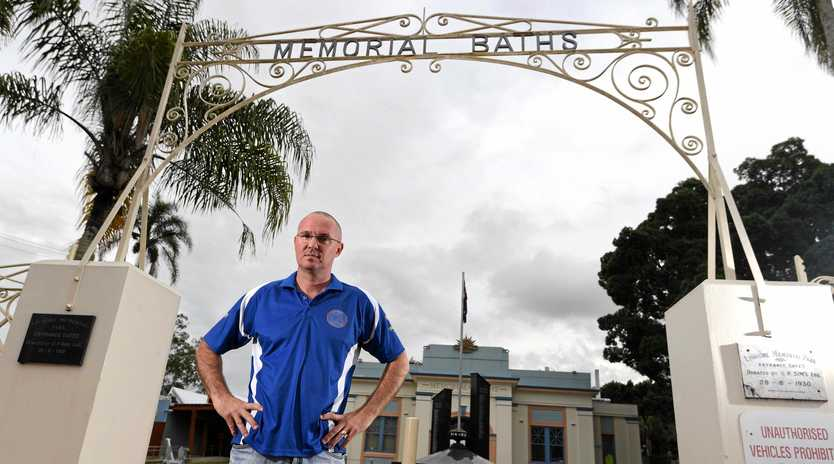 Lismore Workers Swim Team head coach Peter Harvey want Lismore City Council to reconsider their proposed changes to access to the Lismore Memorial Baths.