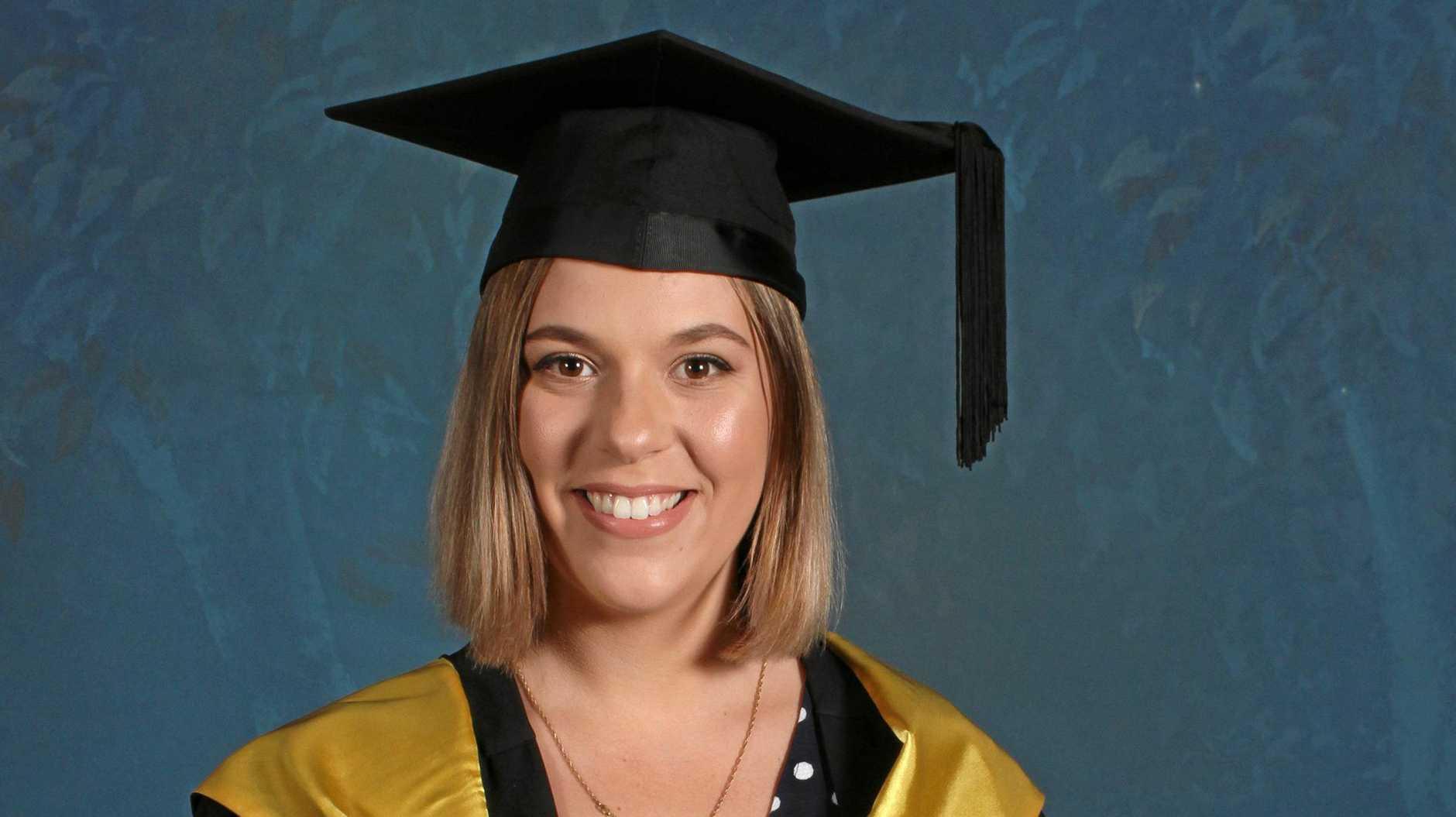 IMPORTANT JOB: Former Riverside Christian College co-captain Stefanie Csonka has begun a career in education.