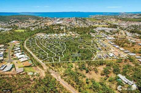 501 Paradise Grove, Yeppoon, is now a hive of construction as dozers are  clearing the land for residential development.