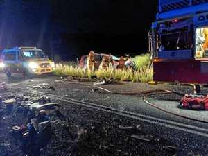 THREE CRASHES: Four injured, one dead in North Burnett