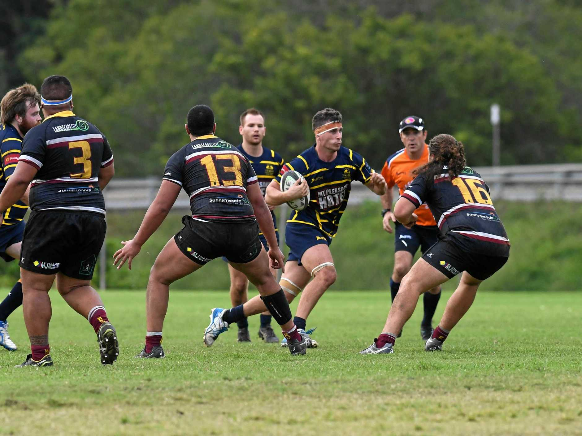 Gympie Hammers VS Caboolture - Hammers win 14-5-  #4 Mitch James