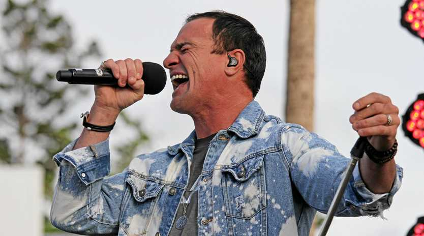 WHAT ABOUT ME? Shannon Noll will appear at the Rockhampton Show for a special performance on Wednesday, June 12.