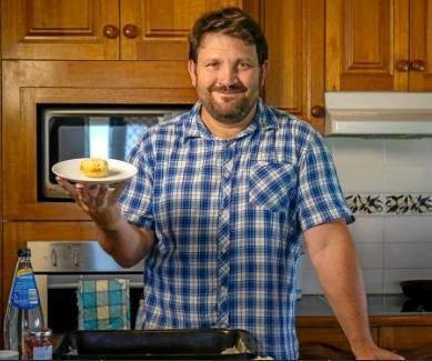 SCONE MASTERS: NewsMail columnist Ben Turnbull and his lemonade scones.