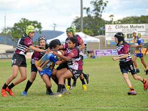 Brumbies battle bravely at Murgon DV Awareness Round