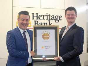 Heritage Bank scoops five star home loan rating