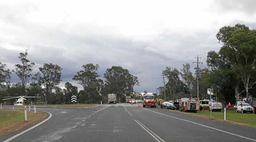 CRASH: Incident on Gatton Helidon and Gatton Clifton Road