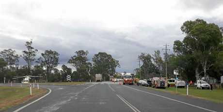 CRASH: Incident on Gatton Helidon and Gatton Clifton Road