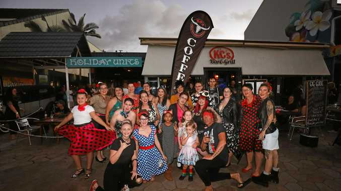 Rockabilly dresses and tattoos galore