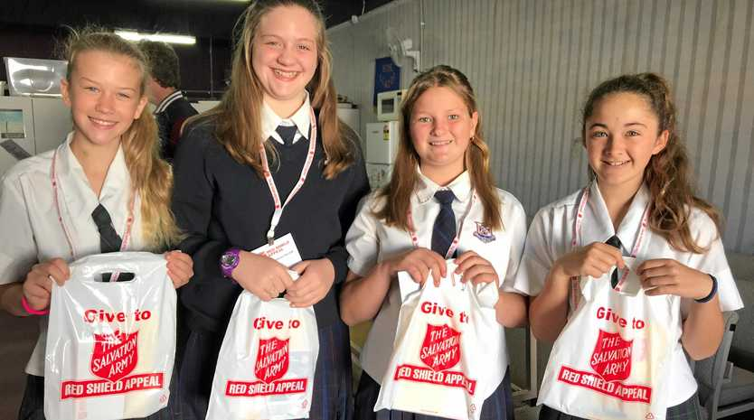 HELPING OUT: Stanthorpe State High students will join other members of the community for the weekend's Red Shield Appeal doorknock.
