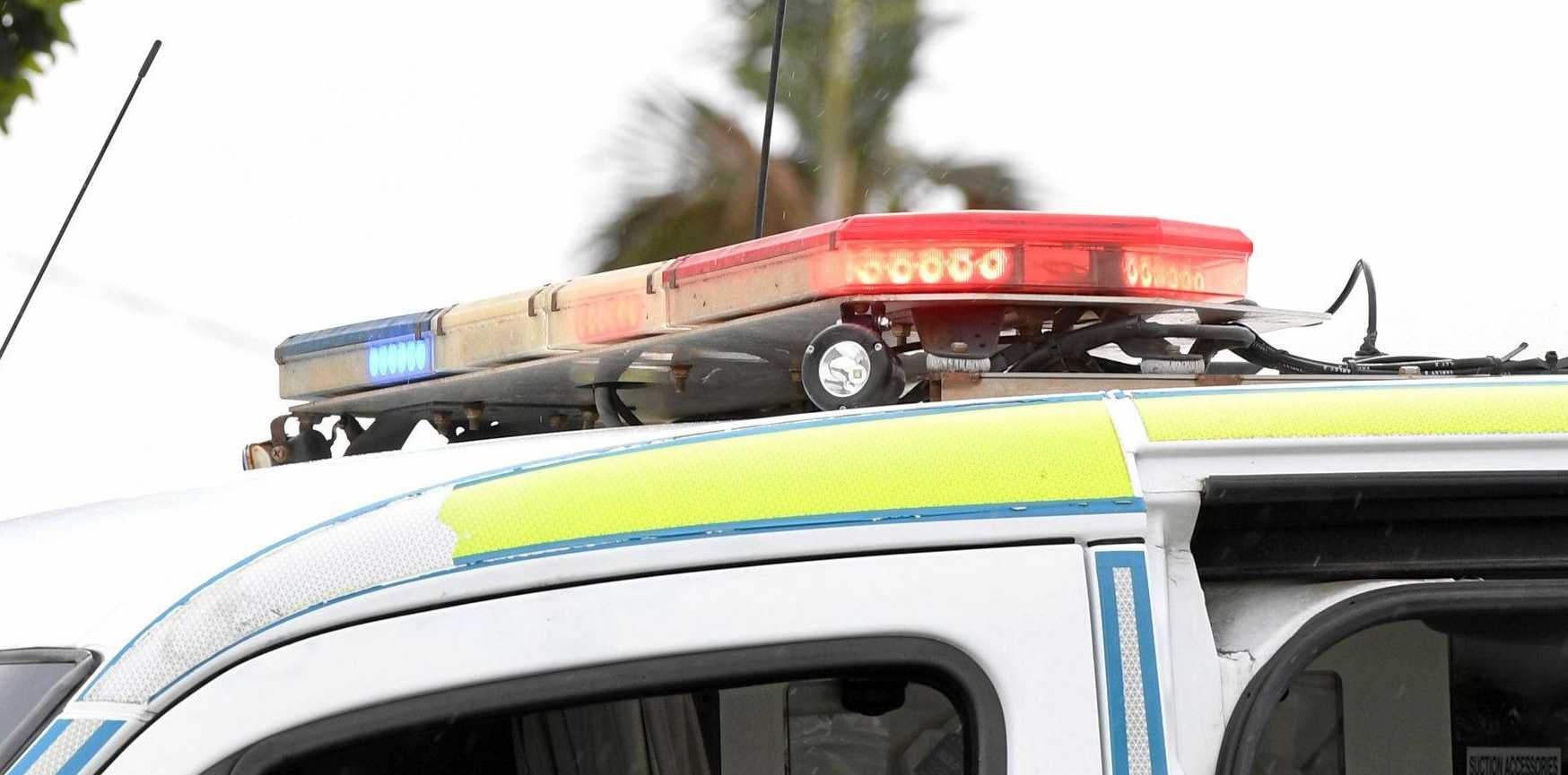 Emergency services are rushing to the scene of a crash at Gunalda.