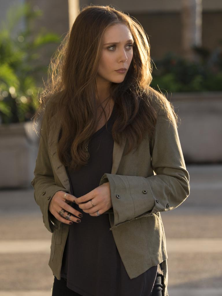 Elizabeth Olsen stars as Scarlet Witch/Wanda Maximoff in Avengers movies. Picture: Zade Rosenthal