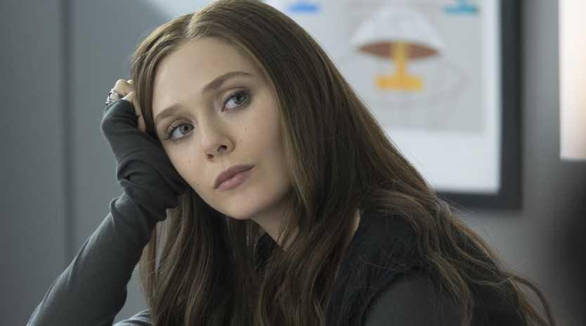 Elizabeth Olsen stars as Scarlet Witch/Wanda Maximoff in Marvel's Captain America: Civil War. Picture: Zade Rosenthal