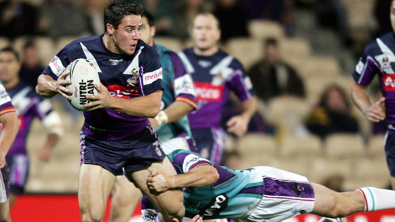 Cronk built himself into greatness.