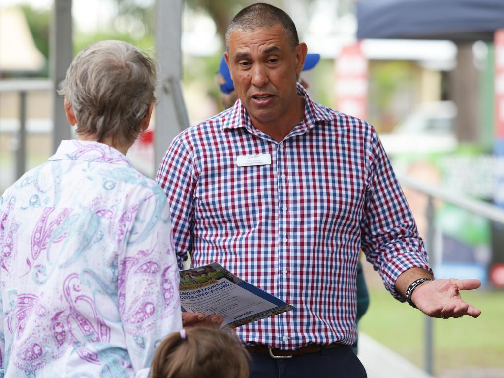 LNP candidate for Longman Terry Young. Picture: AAP