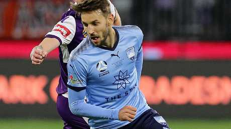 Milos Ninkovic was awarded the Joe Marston Medal