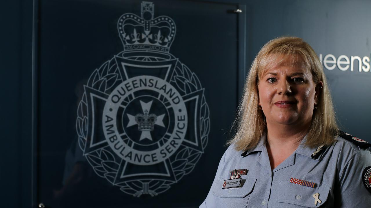 Queensland Ambulance Service Deputy Commissioner Dee Taylor-Dutto. Picture: AAP/David Clark