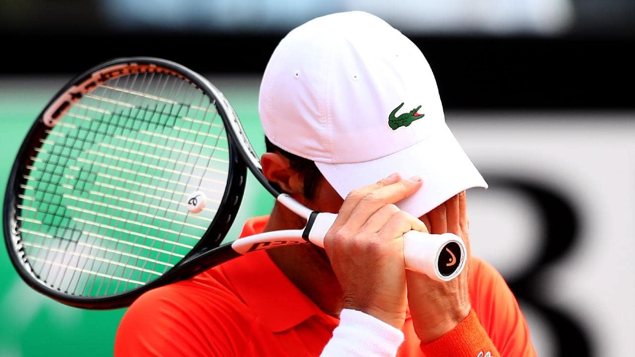 "Djokovic lost a set 6-0 for the first time to a player he describes as his ""greatest rival""."