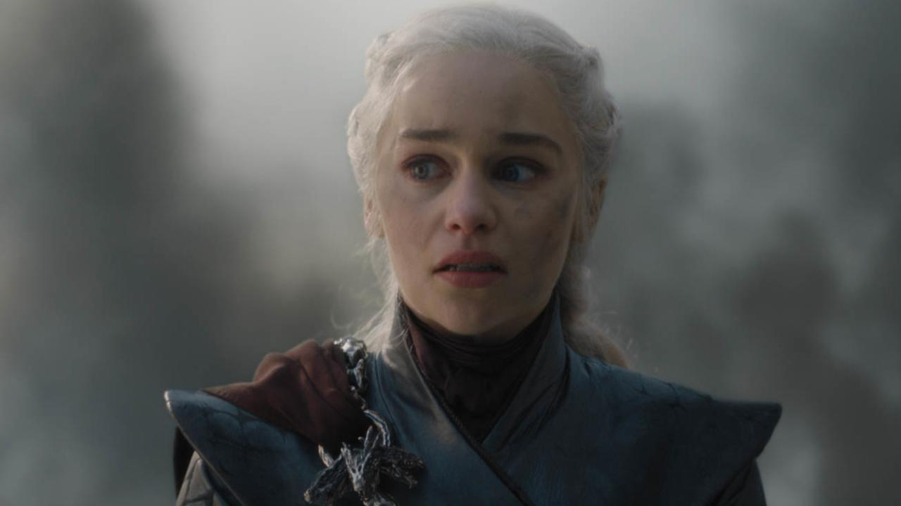 HBO shows Emilia Clarke in a scene from