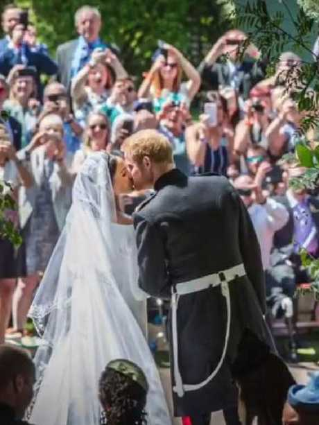 Harry and Meghan's big day.