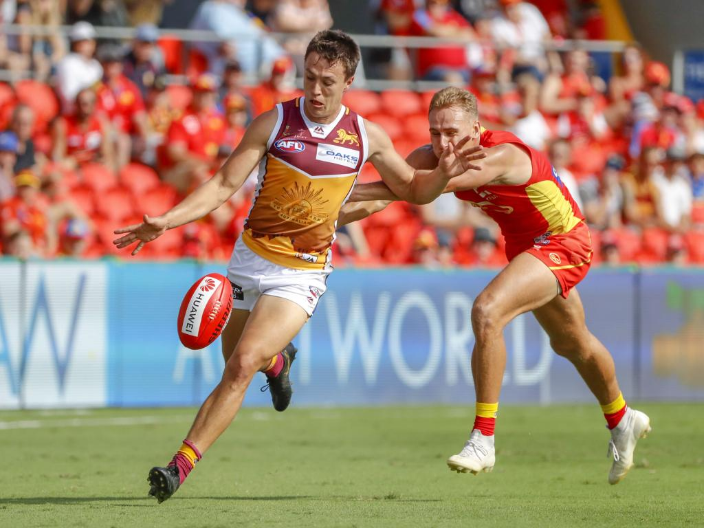 McCluggage has been racking up the disposals this season. Picture: AAP