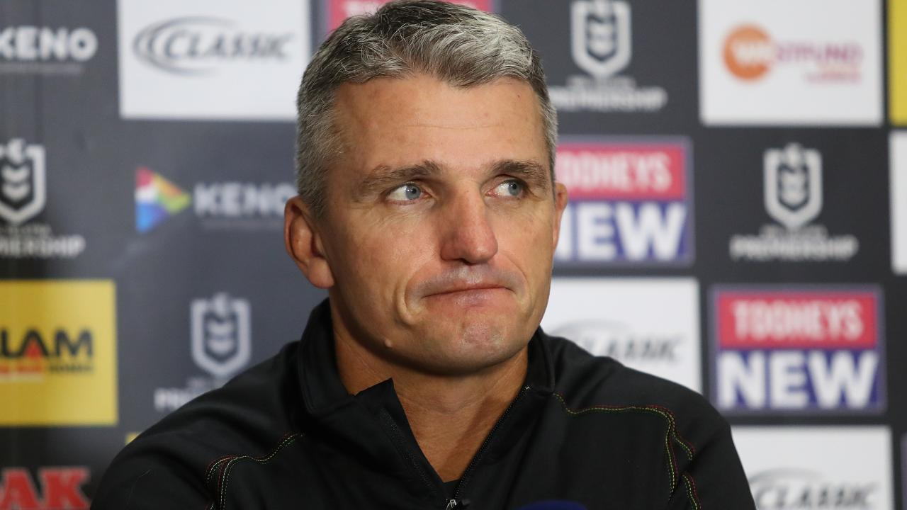 Penrith coach Ivan Cleary. Picture: Brett Costello