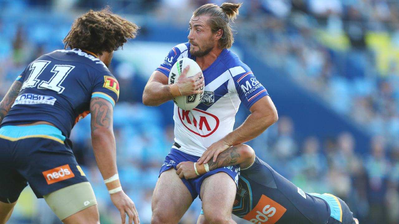 Kieran Foran has helped to spark the Bulldogs' attack. Picture: Getty Images
