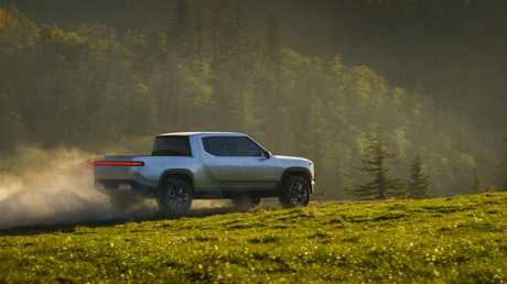 Rivian R1T electric ute is expected to enter production later next year.