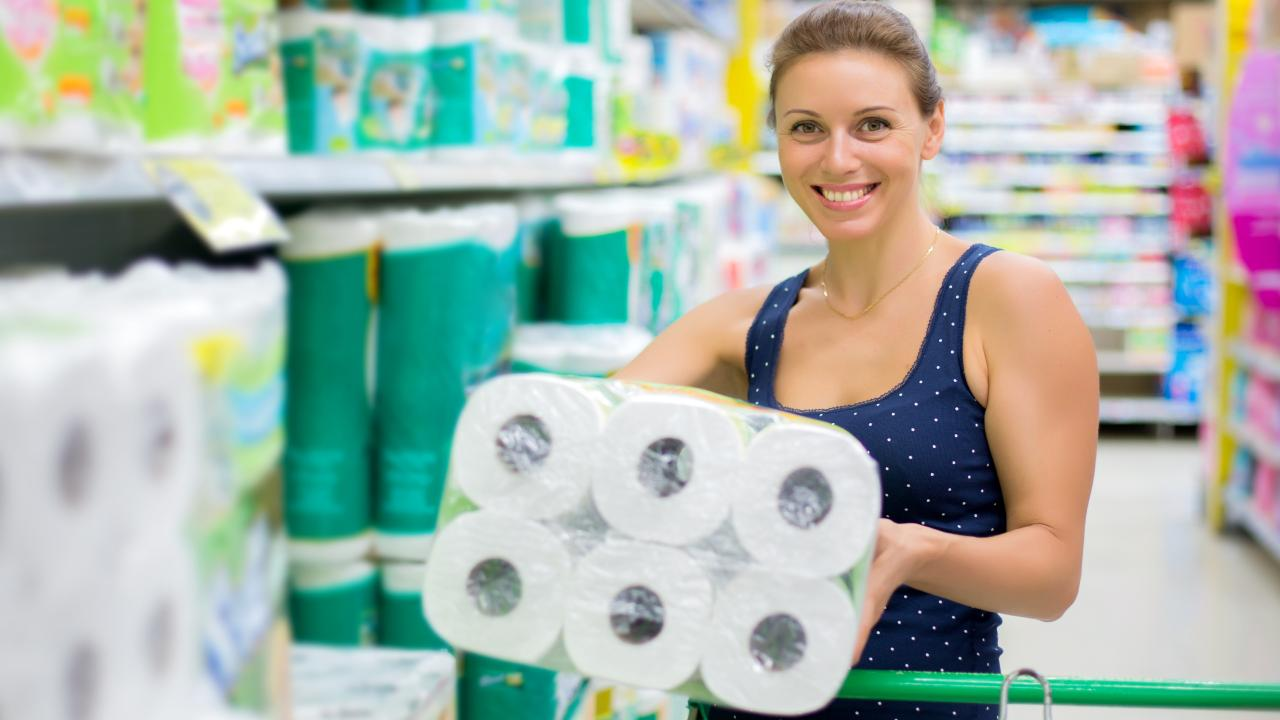 A woman (not pictured) has sparked an online debate as to what is considered a normal amount of toilet paper roll use, per week.