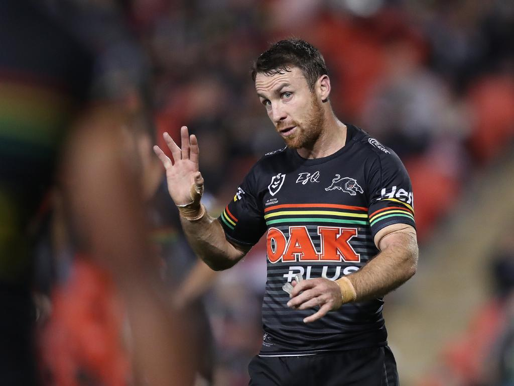 Penrith's James Maloney has a date with the judiciary. Picture: Brett Costello