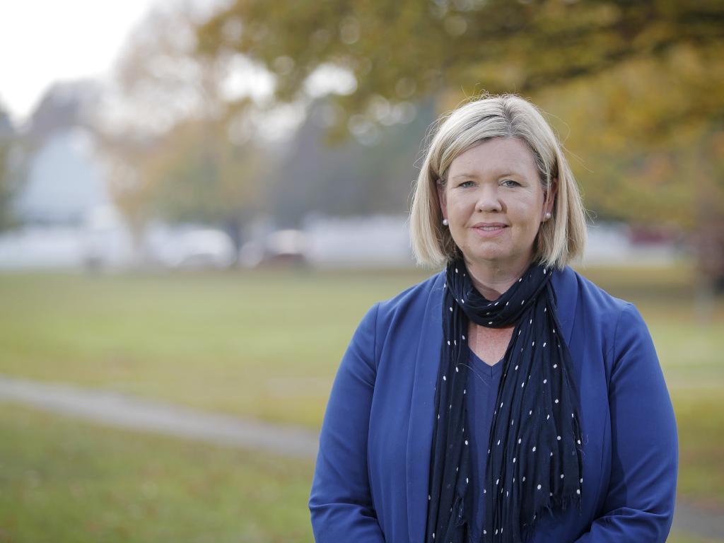 Liberal candidate Bridget Archer. Picture: Patrick Gee