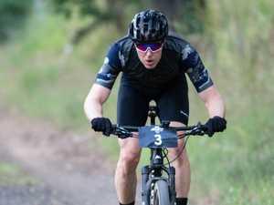 6 hour mountain bike race, Ollie Saare.