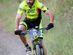 6 hour mountain bike race, Andrew Bale.