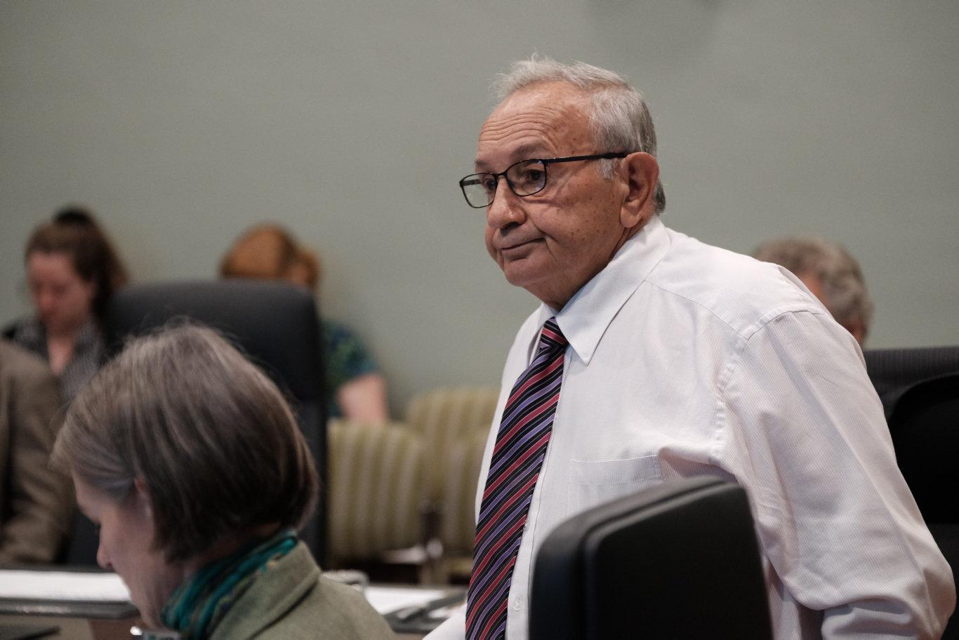 Councillor Joe Ramia.