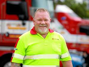 Hero truckie: 'I couldn't let him burn'