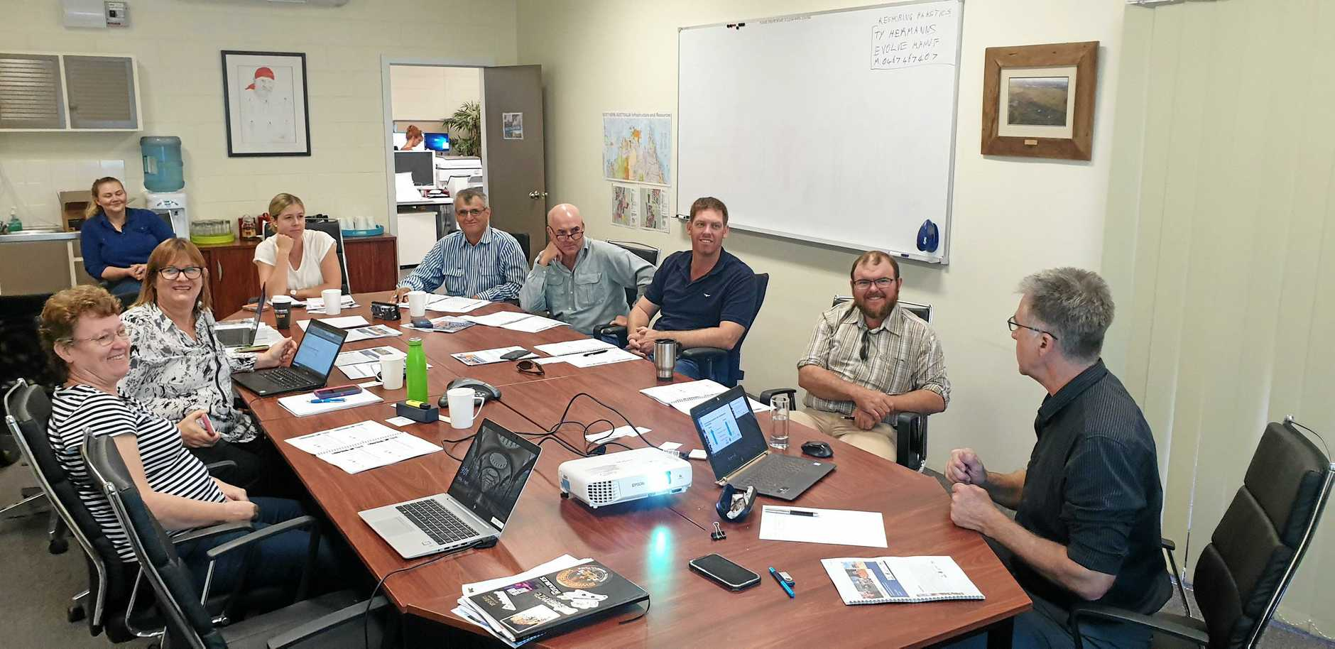 Export Ready program participants came from across the Central Highlands - from Clermont to Rolleston.