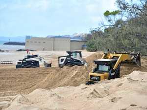 COUNCIL: Sand push underway at Hervey Bay beaches