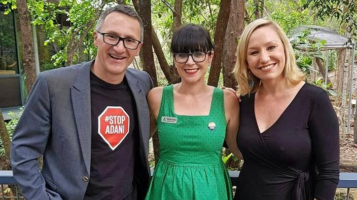 Mother-of-four Michelle Duncan and The Greens candidate said Ipswich is slowly turning green.